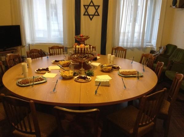 Az ünnepi asztal díszei
